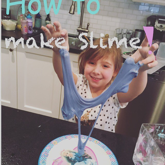 How to make slime with Laundry Detergent