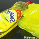 Learn here How to Make Slime with Dish Soap
