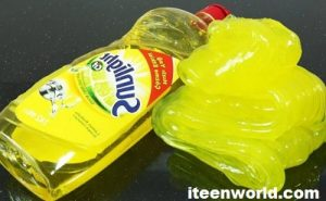 Learn here How to Make Slime with Dish Soap and Glue