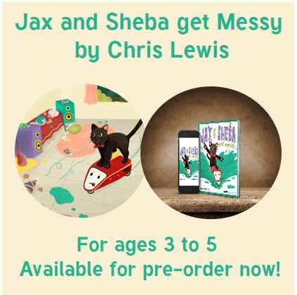 eBook for children Jax and Sheba get Messy